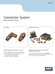 Quick connectors brochure