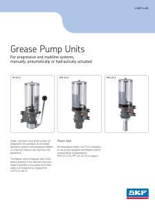 PF-23 pumper brochure